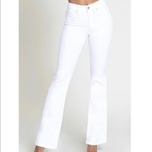 YMI White Flare Jeans size 9